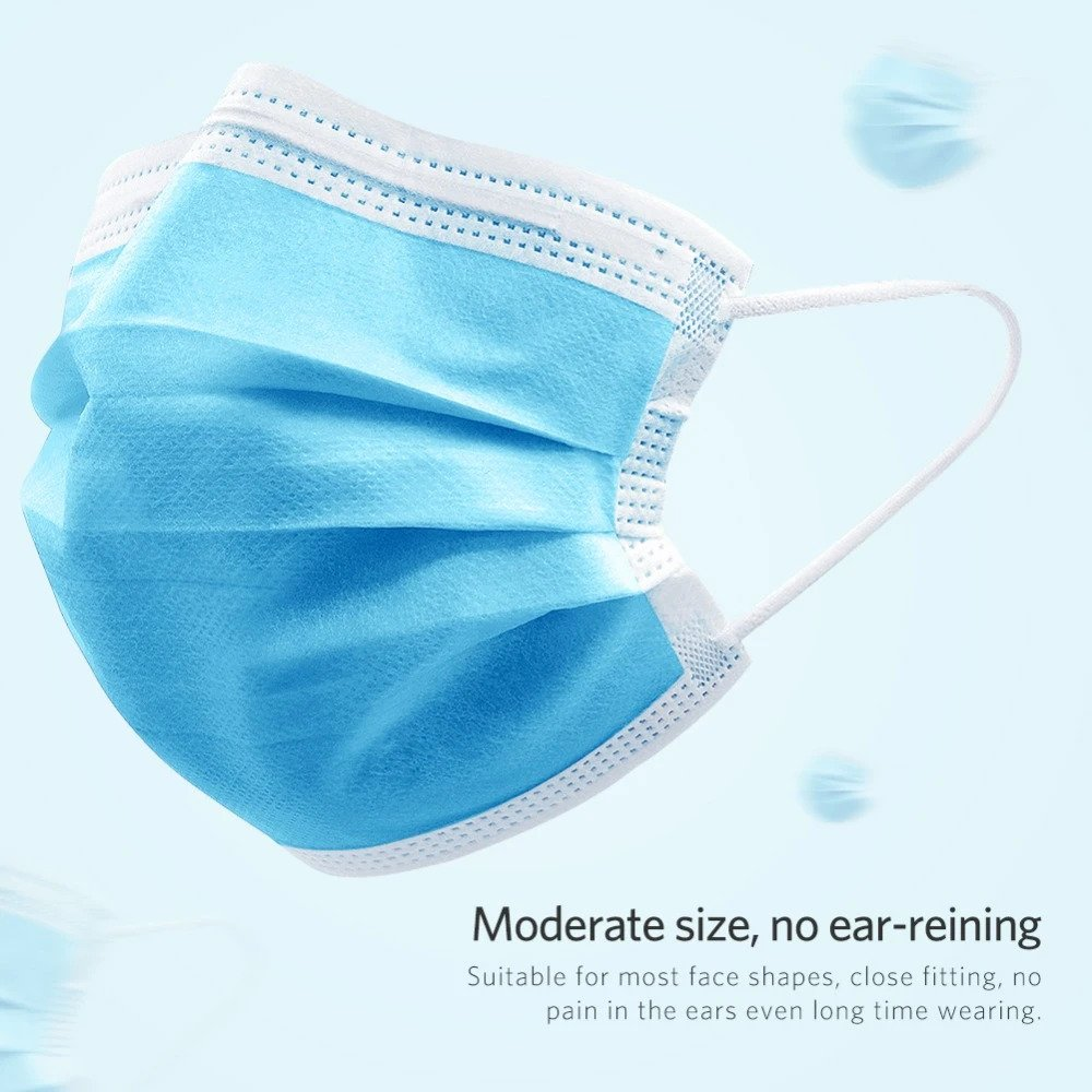 Anti-Virus Disposable Anti-Dust Breathable 3-Layered Mask
